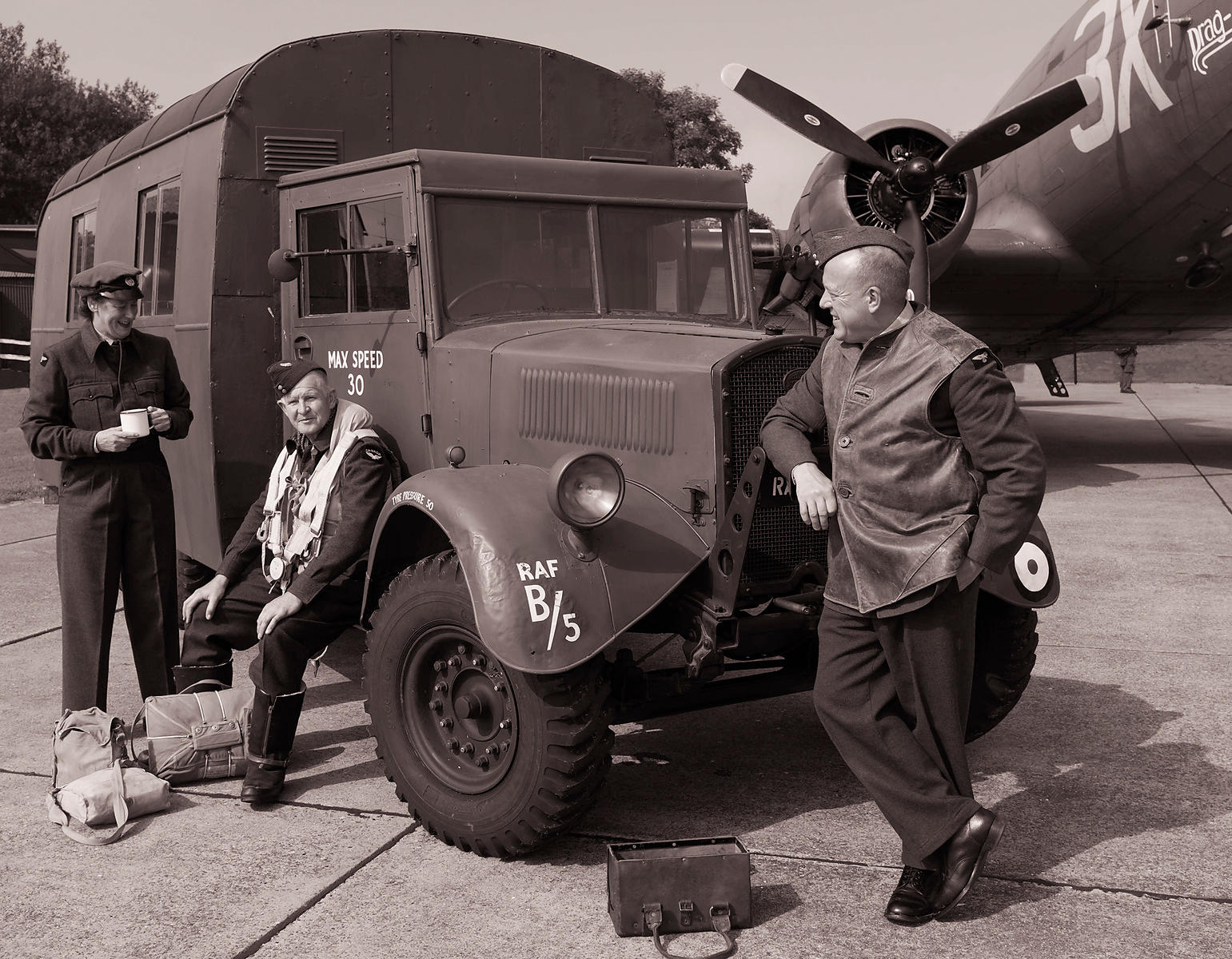 1940's re-enacted | East Kirkby, Lincs | September 2014