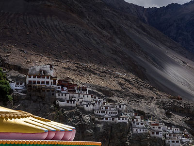 This photograph was shot In leh.