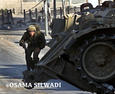 Israeli Military Invasion Of Ramallah 2002