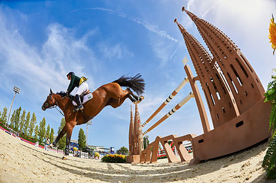 Furusiyya FEI Nations Cup Final 1st qualifier 1,60m at CSIO5 Barcelona FEI/FURUSIYYA at Club de Polo, BARCELONA - SPAIN