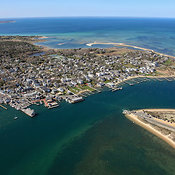 Edgartown From The Southeast, Martha's Vineyard