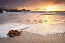 Sunset over Clachtoll Bay - landscape Photography