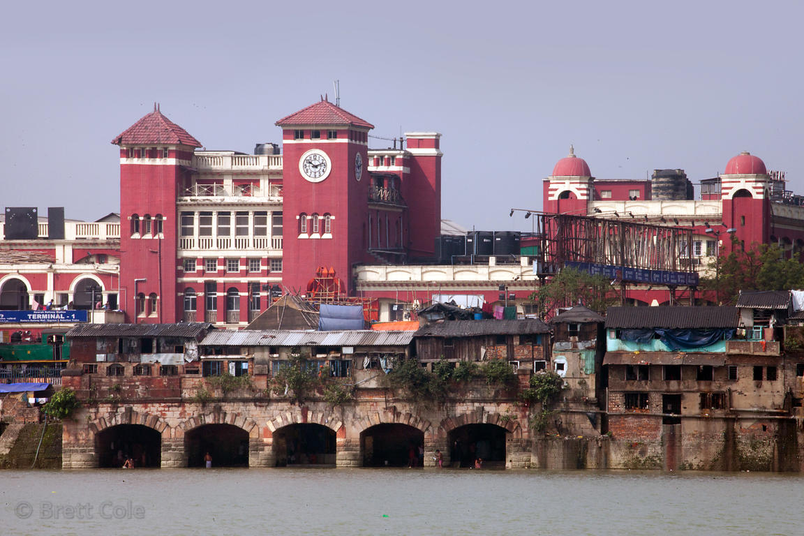 Howrah Station is a massive train station (and revered architectural work) in Howrah, across the Hooghly River from Kolkata, ...