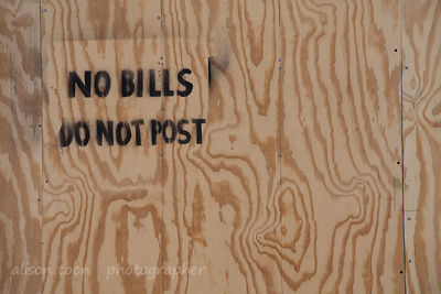 No bills do not post