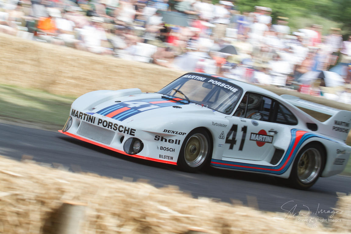 Porsche 935/77 'Baby' (1.5-litre turbocharged flat-6, 1977) on Goodwood Hill - Goodwood Festival of Speed 2013