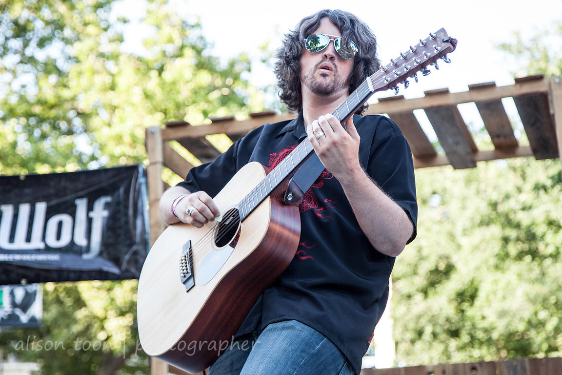 Joshua Dale Krage, guest 12-string guitar with Humble Wolf