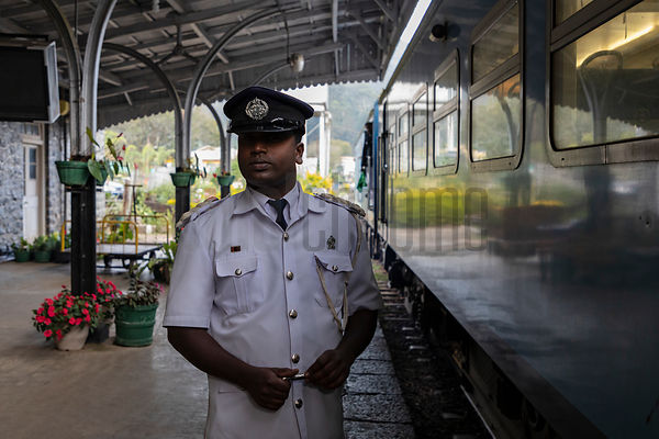 Portrait of the Station Master at Haputale