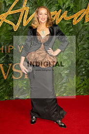Jerry Hall attends The Fashion Awards 2018 at The Royal Albert Hall. London, UK. 10/12/2018