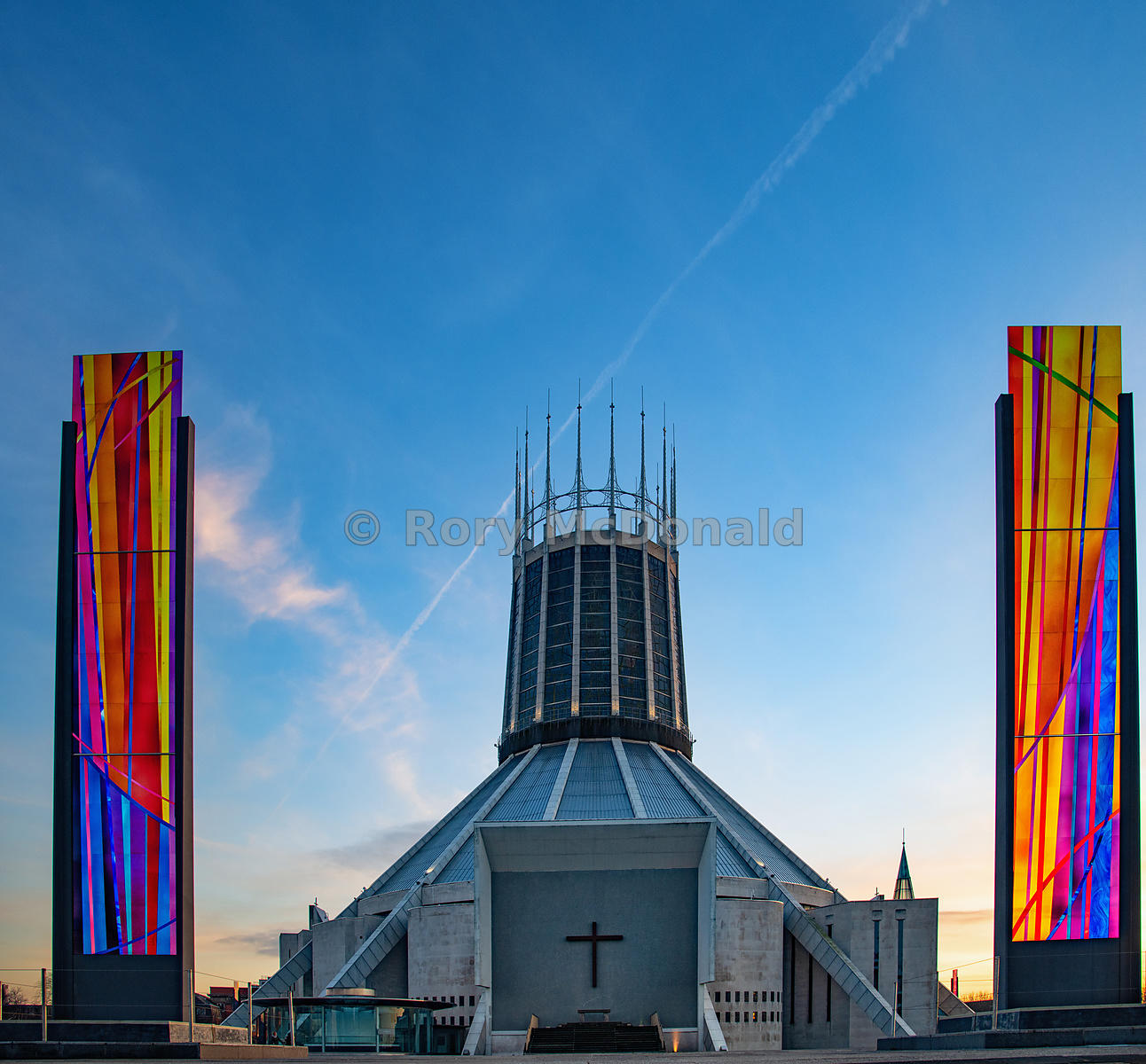 The Catholic Cathedral in Liverpool
