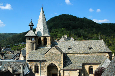 Eglise Saint-Fleuret Estaing Aveyron 08/06