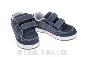 Children's Blue Shoes with Velcro Straps