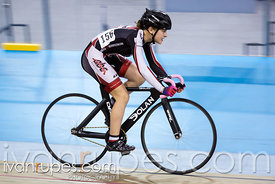 U15/U17 Women Points Race. Ontario Track Championships, Mattamy National Cycling Centre, Milton, On, March 5, 2017
