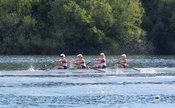 Taken during the World Masters Games - Rowing, Lake Karapiro, Cambridge, New Zealand; ©  Rob Bristow; Frame 469 - Taken on: T...