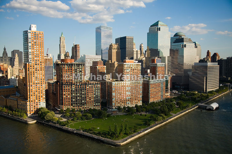 Rockefeller Park sits at the northwestern corner of Battery Park City, a 90-acre planned community of apartments, parks, offi...
