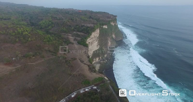 Indonesian Seacoast and Cliff on Bali