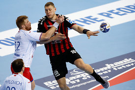 Dainis Kristopans during the Final Tournament - Semi final match - Vardar vs Meshkov Brest - Final Four - SEHA - Gazprom leag...