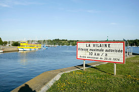 Photo de l'estuaire de la Vilaine