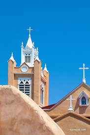 SAN FELIPE DE NERI CHURCH HISTORIC OLD TOWN ALBUQUERQUE NEW MEXICO