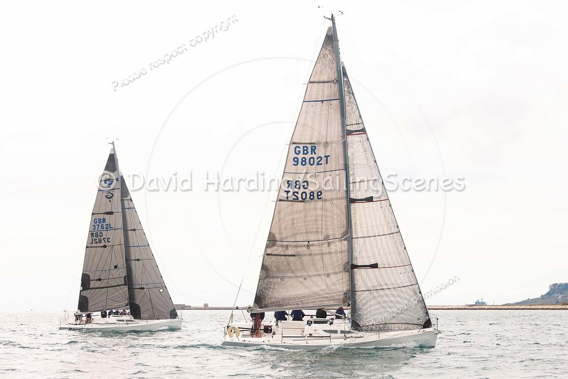 Surprise, GBR9802T, Archambault Grand Surprise, Weymouth Regatta 2018, 20180908962.