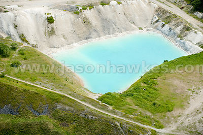 Clay pit, Harpur Hill, Peak District, Derbyshire