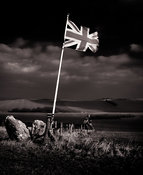 Country Flag | Knighton Down Wiltshire| January 2012