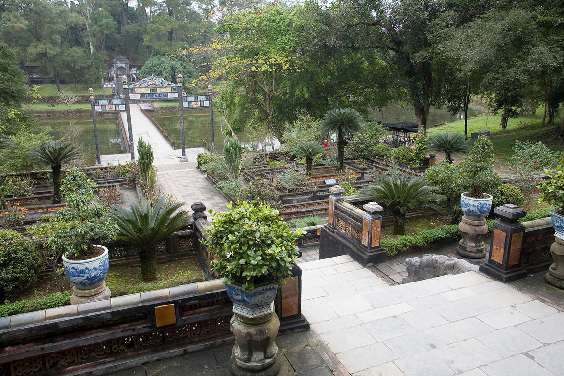 Gardens at the Tombs of Minh Mang