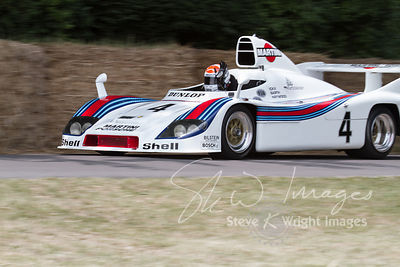 Porsche 936/77 (2.1-litre turbocharged flat-6, 1977) reunited with Jacky Ickx on Goodwood Hill - Goodwood Festival of Speed 2013