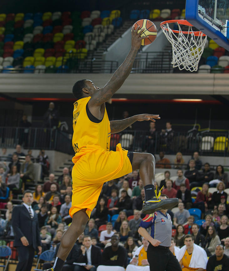 British Basketball League Trophy 1st Round - London Lions v Worcester Wolves Basketball