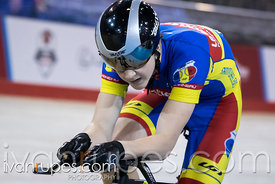 U17 Men Pursuit Final. 2016/2017 Track O-Cup #3/Eastern Track Challenge, Mattamy National Cycling Centre, Milton, On, Februar...