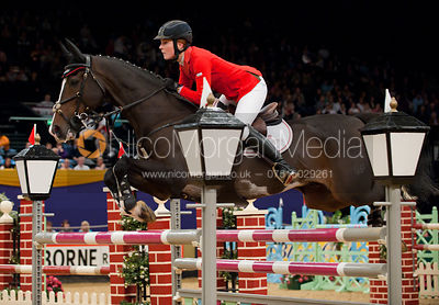Florence Bellm and Sodexco, Horse of the Year Show 2010