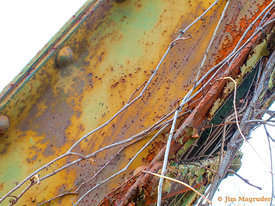 Rusting Bridge Beam