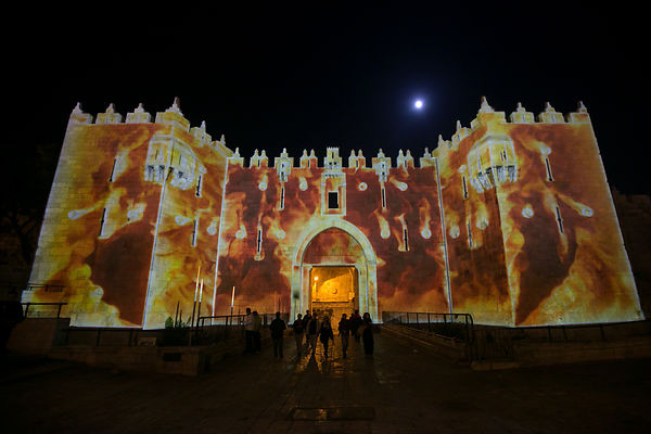 Festival of light in jerusalem 2014 photos