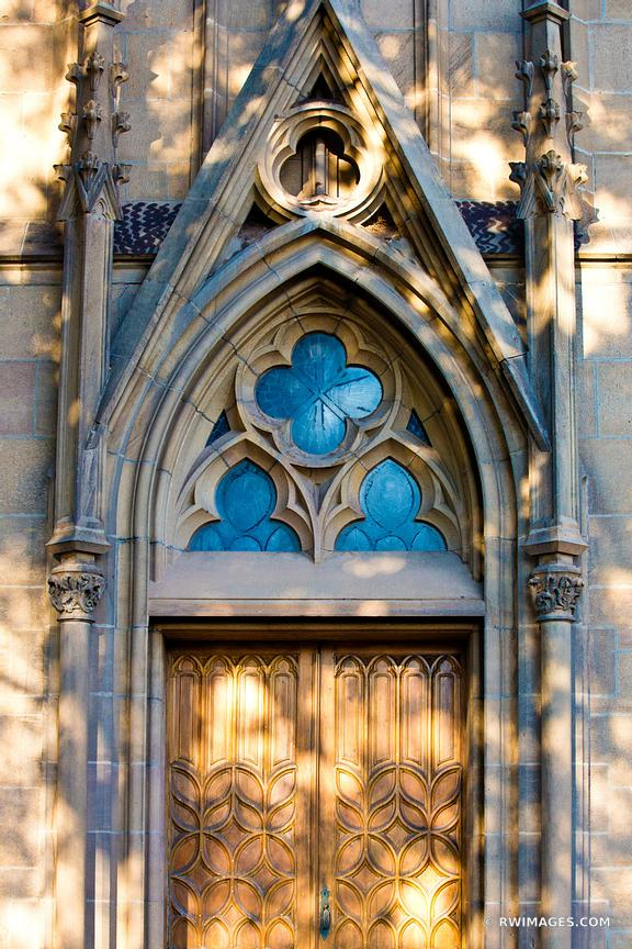 LORETTO CHAPEL DOOR SANTA FE NEW MEXICO