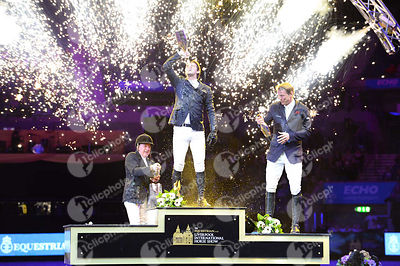 Prize Giving ceremony of CSI4 - Grand Prix - Sponsored by EQUESTRIAN.COM