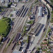 Train rails, Kempten