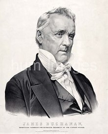 James Buchanan, Democratic candidate for fifteenth President of the United States