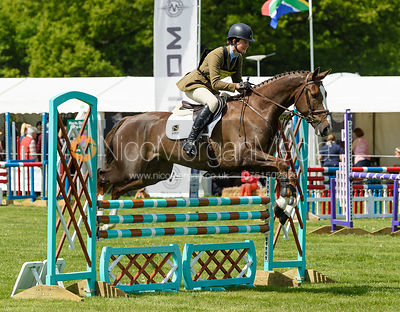 Willa Newton and QUBA, Fairfax & Favor Rockingham Horse Trials 2018