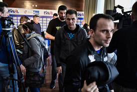Xavier SABATE of MVM VESZPREM during the Final Tournament - Final Four - SEHA - Gazprom league, Finals press conference Varaz...