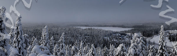 Mist over Ruka Valley
