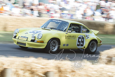 Porsche 911 RSR (2.8-litre flat-6, 1973), Dave Helmick's 1973 winner of the 12 Hours of Sebring - Goodwood Festival of Speed ...