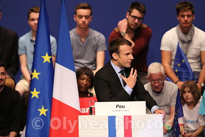 Meeting of Emmanuel MACRON