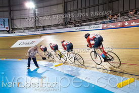 U17 Men Team Pursuit 1-2 Final. Canadian Track Championships (Jr, U17, Para), April 14, 2019