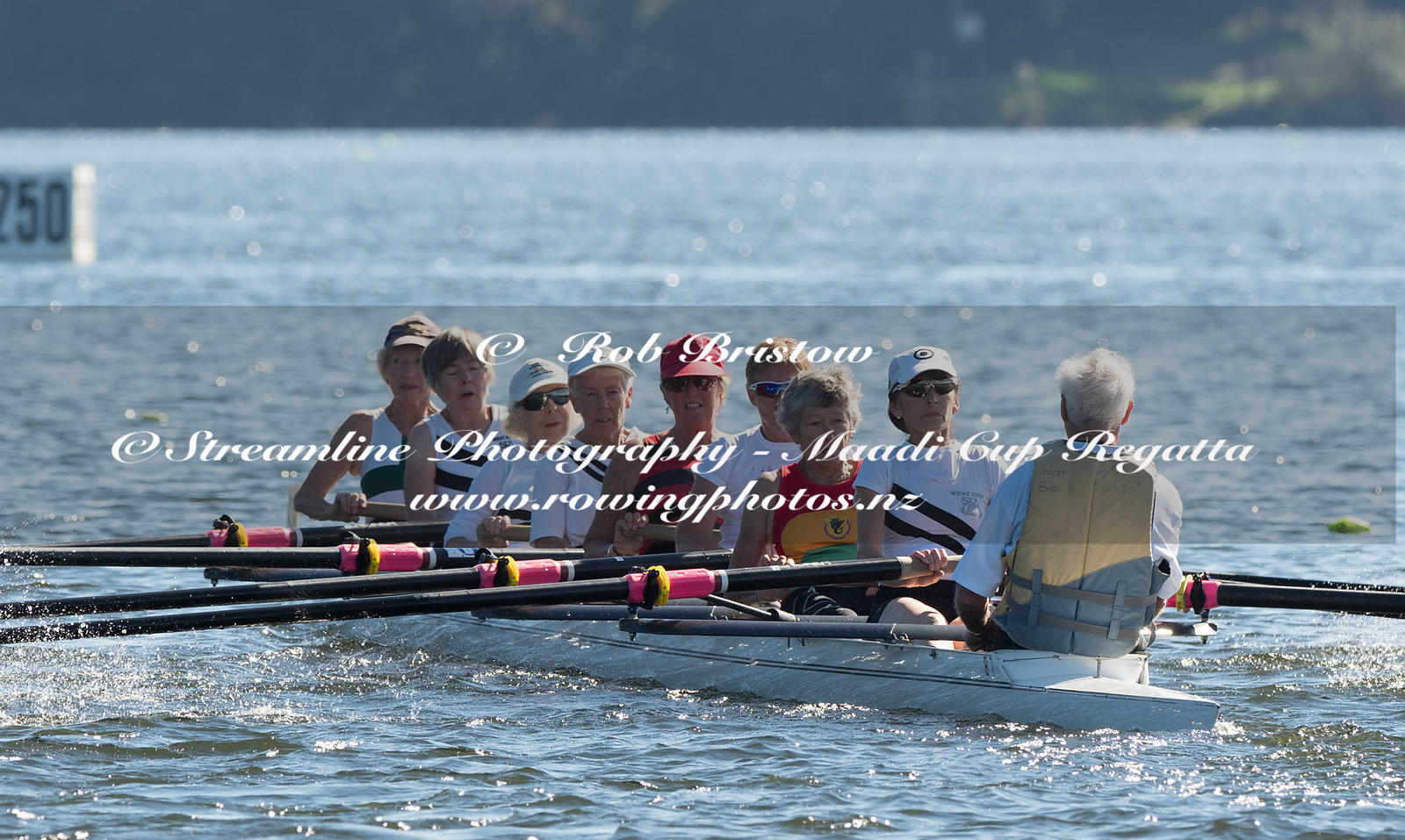 Taken during the World Masters Games - Rowing, Lake Karapiro, Cambridge, New Zealand; ©  Rob Bristow; Frame 3722 - Taken on: ...