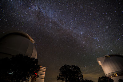 The Otto Struve Telescope and the Harlan J. Smith Telescopes