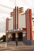 Art-deco cinema theatre, Inhambane, Mozambique