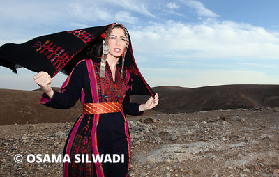 The Folk dress of Gaza and Al-Majdal