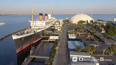 Queen Mary Liner Long Beach California