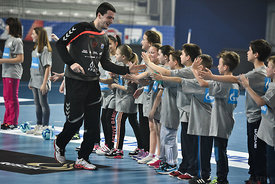 during the Final Tournament - Final Four - SEHA - Gazprom league, Kids Day, Varazdin, Croatia, 02.04.2016, ..Mandatory Credi...