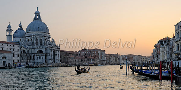 Grand Canale, Venise, Philippe Delval