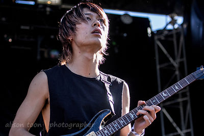 Toru, guitar, One OK Rock